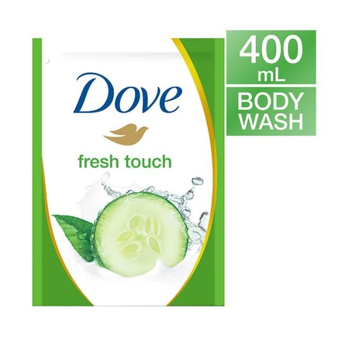 harga Dove body wash fresh touch refill 400ml Tokopedia.com
