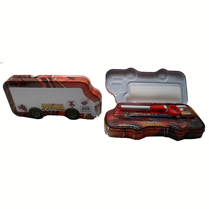 Kotak Pensil anak sekolah - tempat pensil set karakter SPIDERMAN