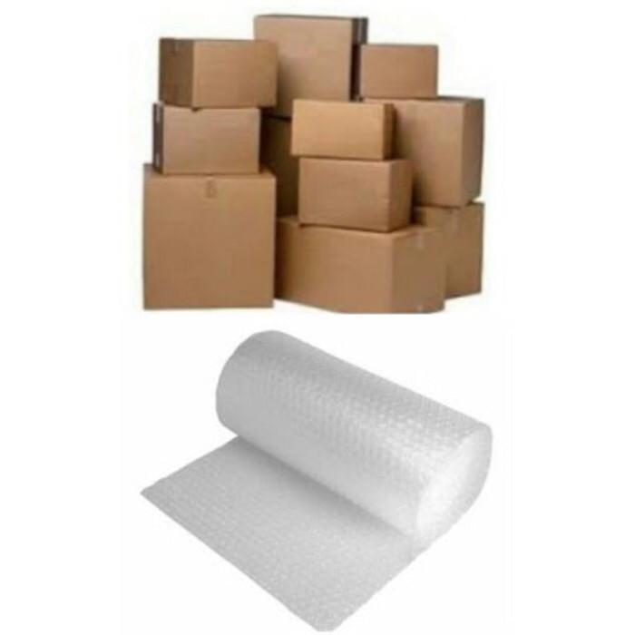 Foto Produk Tambahan Kemasan - Kardus & Bubble Wrap agar aman pengiriman dari atanta Shop