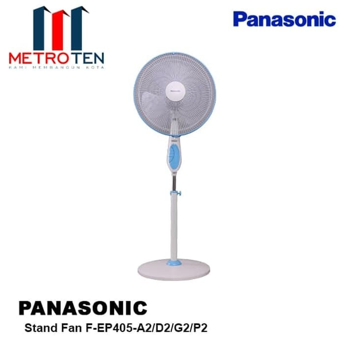 Image Panasonic Stand Fan F-EP405-A2/D2/G2/P2 / Kipas Angin Berdiri