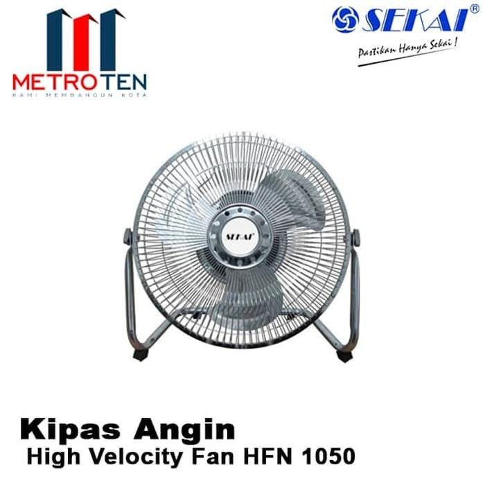 Image SEKAI High Velocity Fan HFN 1050 / Kipas Angin Listrik