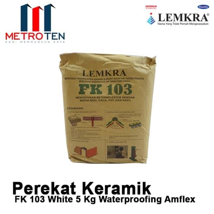 Image LEMKRA Waterproofing Amflex FK 103 White 5Kg