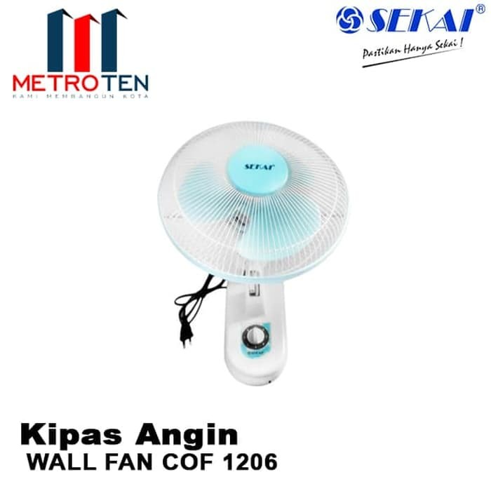 Image SEKAI Wall Fan WFN 1206 / Kipas Angin Dinding