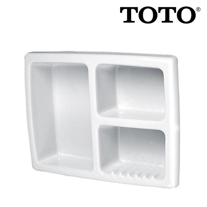 Image TOTO Recessed Soap Holder S161 White