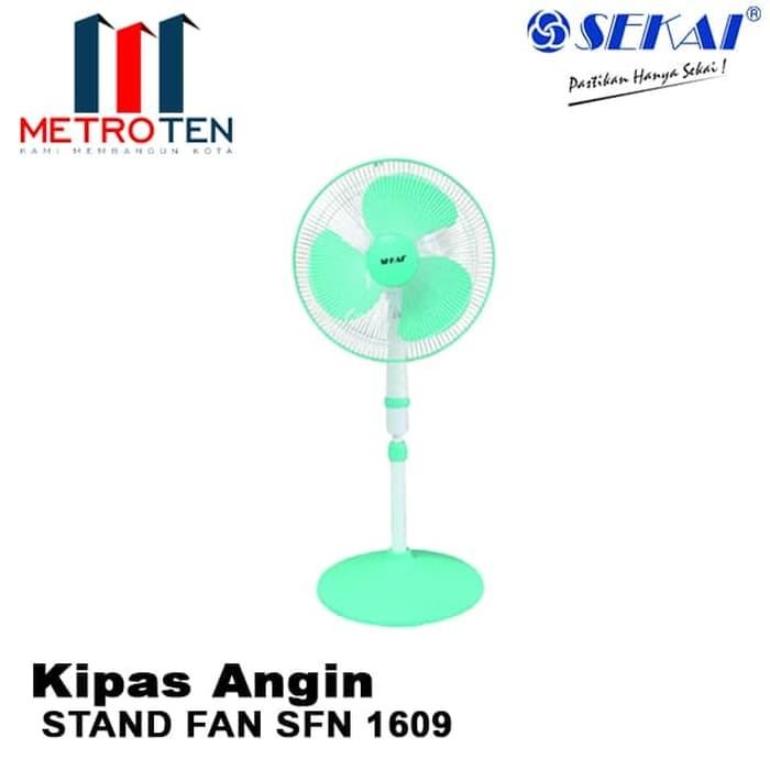 Image SEKAI Stand Fan SFN 1609 / Kipas Angin Berdiri