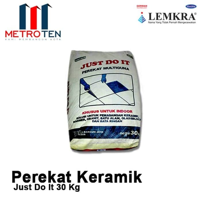 Image Lemkra Just Do It Perekat Keramik 30kg