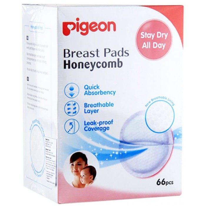 Collection Pigeon Breast Pad Fit Type [66 Pcs] PR030501