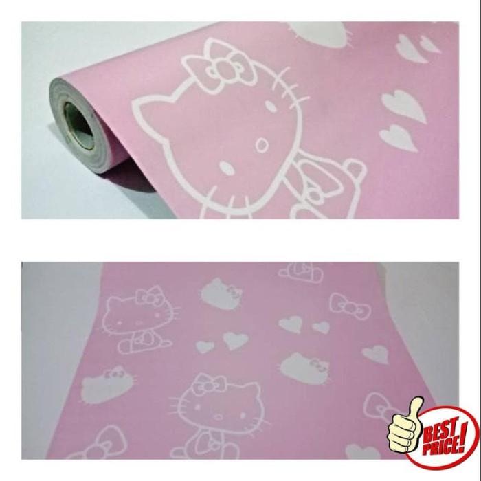 Jual Wallpaper Dinding Paling Murah Ruangan Kamar Tidur Hello Kitty Pink Dki Jakarta Nay5sixstore Tokopedia