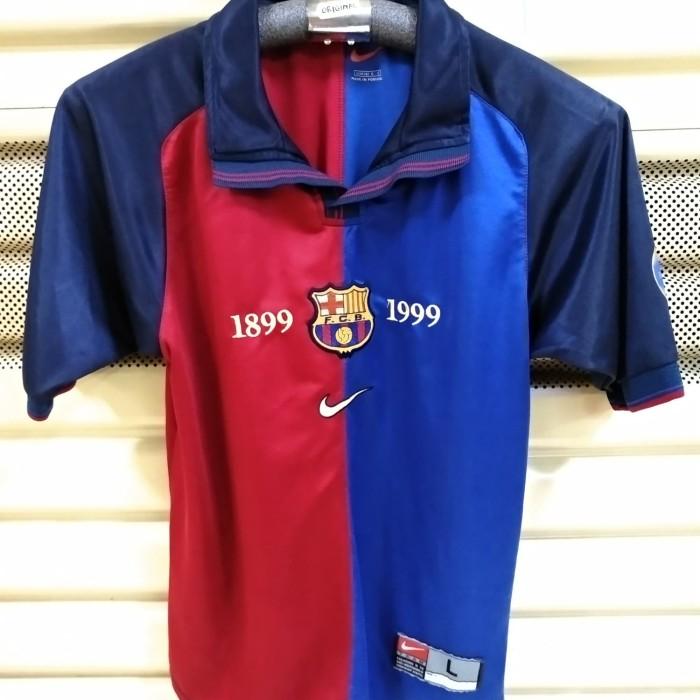 sports shoes 32fce 6edfc Jual Jersey Barcelona Home 1999 Centenary ORIGINAL - DKI Jakarta - Medioker  Store | Tokopedia