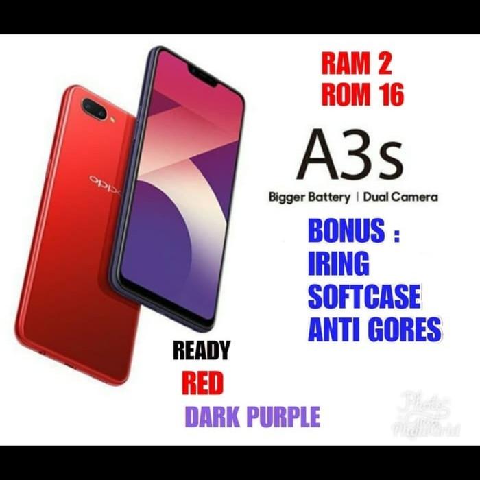 OPPO A3S 2/16GB Garansi Resmi OPPO 1TH - Merah