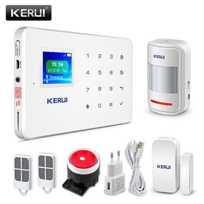 Harga Wireless Gsm Alarm System Untuk Rumah Ruko Apartemen Layar Lcd Tokopedia