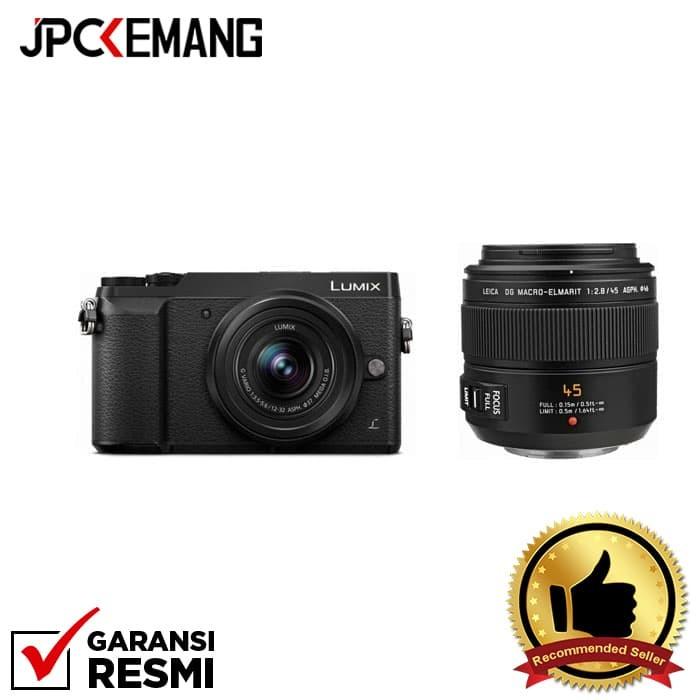 harga Panasonic gx85 kit 12-32mm f/3.5-5.6 +panasonic 45mm f/2.8 leica dg Tokopedia.com