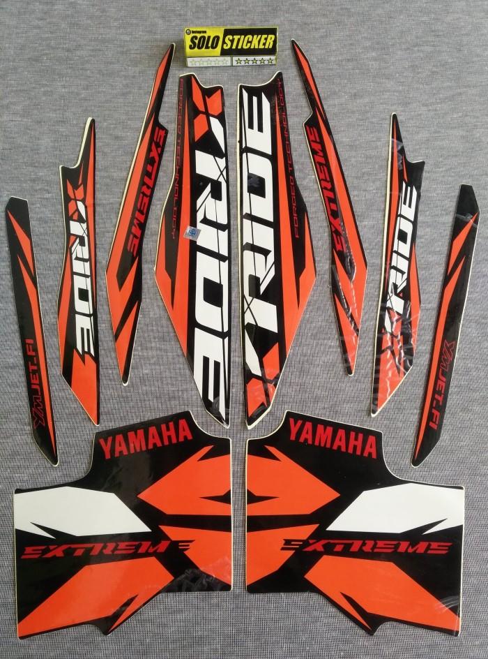 Jual Beli Striping Sticker Lis Motor Yamaha X Ride 2014 2015 2 Harga