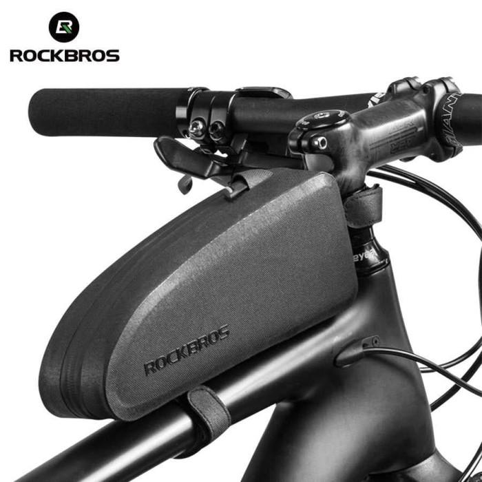 Foto Produk Rockbros Tas Rangka Frame Sepeda Waterproof Aerodynamic Bag Bike dari dbidzi