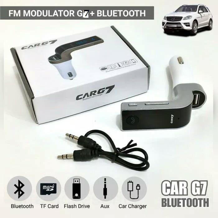 Jual Car G7 Wireless Bluetooth Fm Modulator Car Mp3 Player Sd Usb Aux Dki Jakarta Jaya Baya Tokopedia
