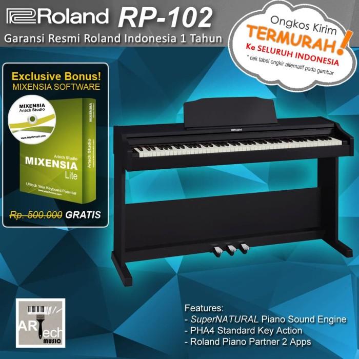 harga Roland rp102 / roland rp 102 digital piano Tokopedia.com