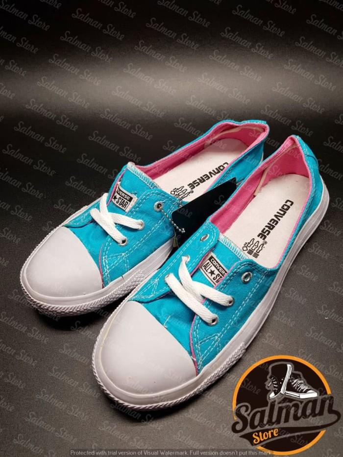 Sepatu Converse All Star Ocean Blue LS Cuci Gudang Murah - Oceanblue 561f7fa0cb