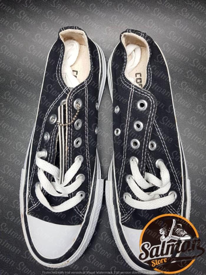 Jual Sepatu Converse All Star Black LOW Double Poxing Cuci Gudang ... 0707429bc0