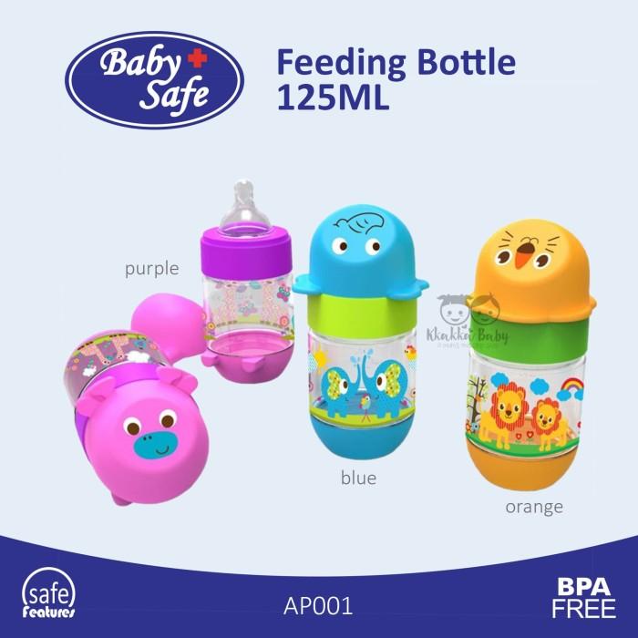 Baby Safe - Feeding Bottle AP001 - 125ML - Purple