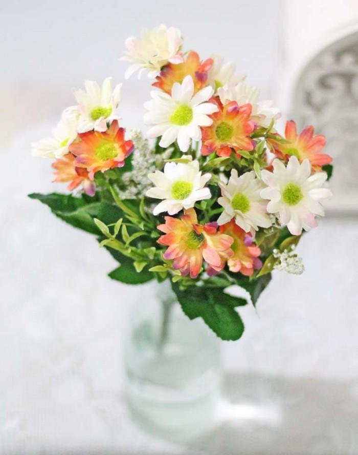 harga Bunga plastik hias artifisial flower krisan daisy shabby chic a1-2  Tokopedia.com 85b12c836f