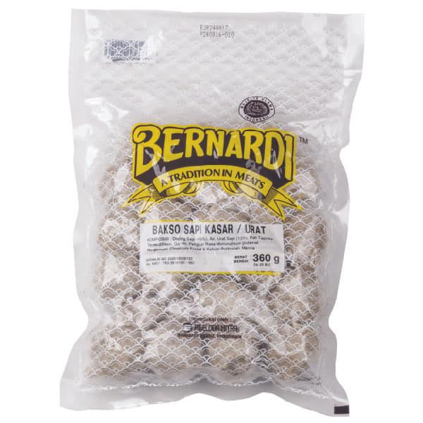 Bernardi bakso sapi kasar 25 bj