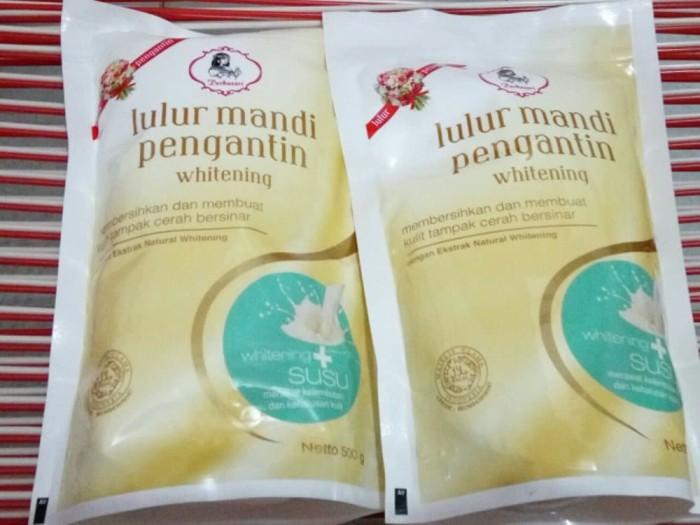 Jual Purbasari Lulur Mandi Pengantin 500gr Susu Kota Surabaya The Salon Shop Tokopedia