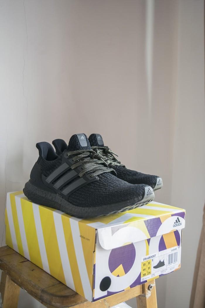 30003287e Jual Adidas Ultra Boost 3.0 - TRIPLE BLACK size US10