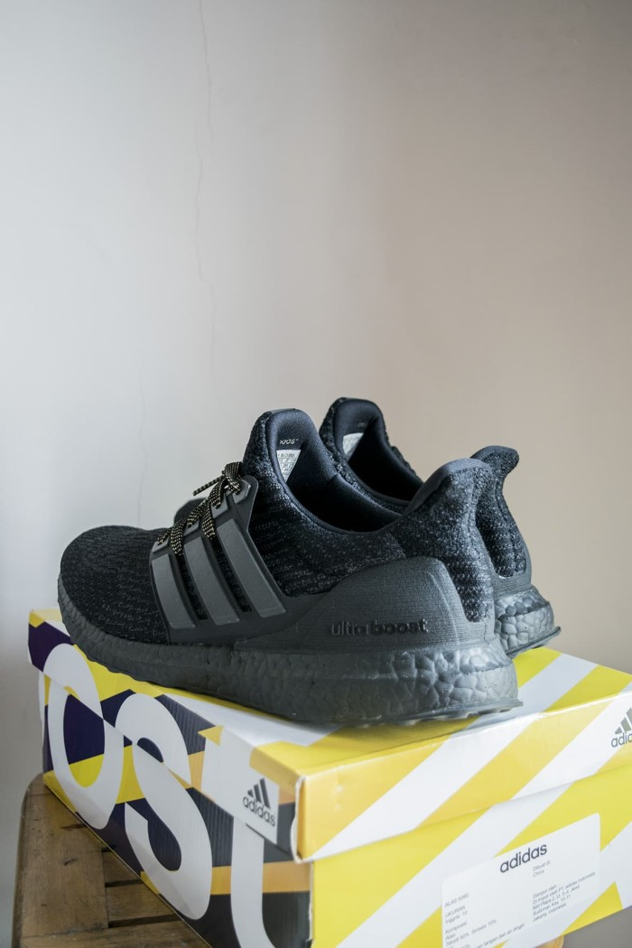 30003287e Jual Adidas Ultra Boost 3.0 - TRIPLE BLACK size US10