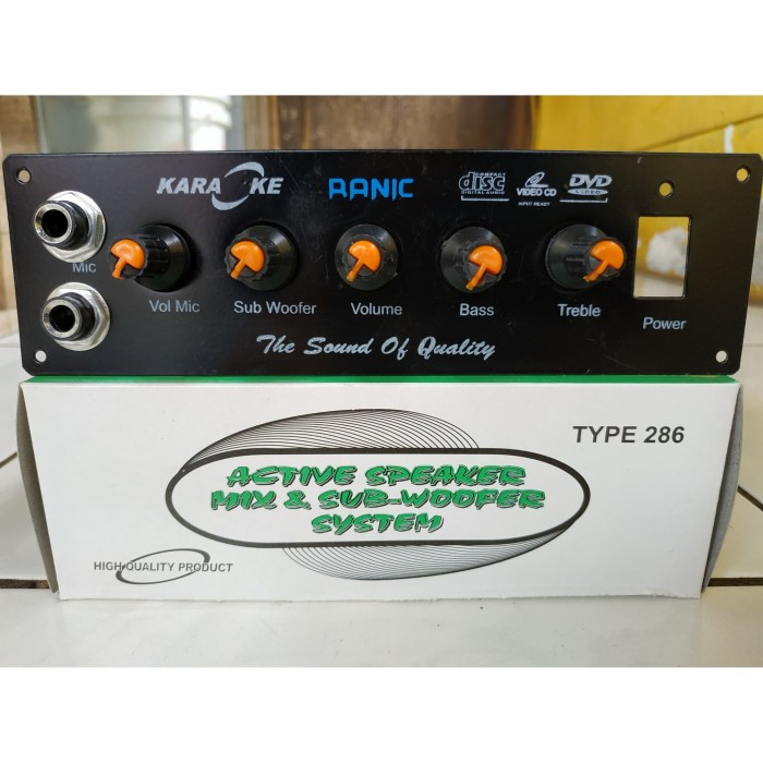 harga Kit power amplifier speaker aktif stereo karaoke 250 watt Tokopedia.com