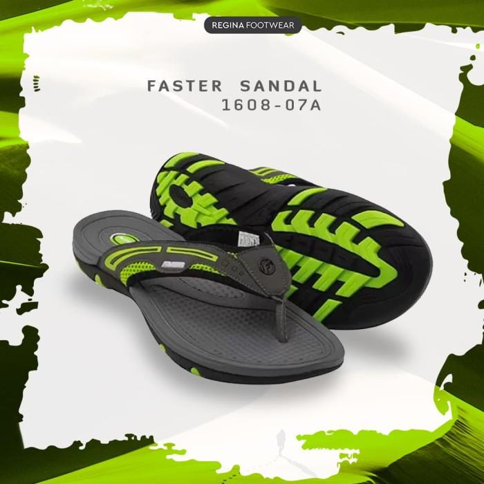 harga Regina footwear faster sandal jepit 1608-07a grey - abu-abu 41 Tokopedia.com
