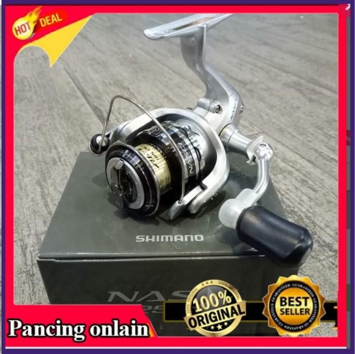 harga Reel shimano / reel pancing / reel pancing shimano nasci 2500 4+1 bb Tokopedia.com