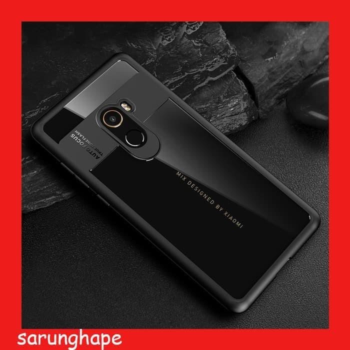 Hybrid Clear TPU Soft Case Casing for Xiaomi Mi Mix 2
