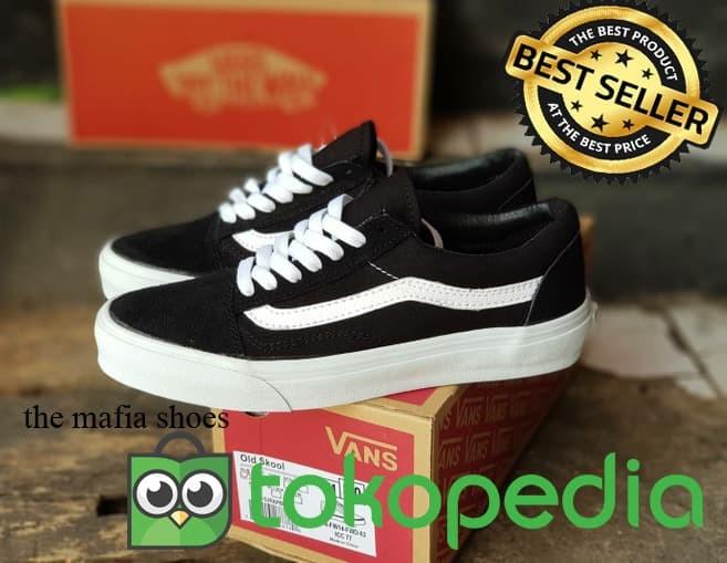 Jual sepatu vans old skool white sole. premium 378b8d64e7