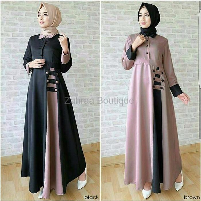 Jual Model Baju Muslim Terbaru Baju Muslim Murah Baju Koko Almia Mt T Pan Kab Kudus Zahraa Boutique Tokopedia