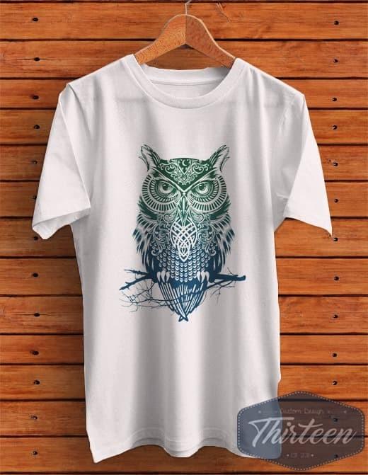 Jual Kaos Model Simple Simpel Owl Burung Hantu Kualitas Distro