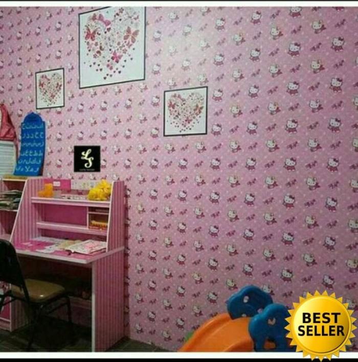 jual grosir murah wallpaper sticker dinding kamar anak karakter