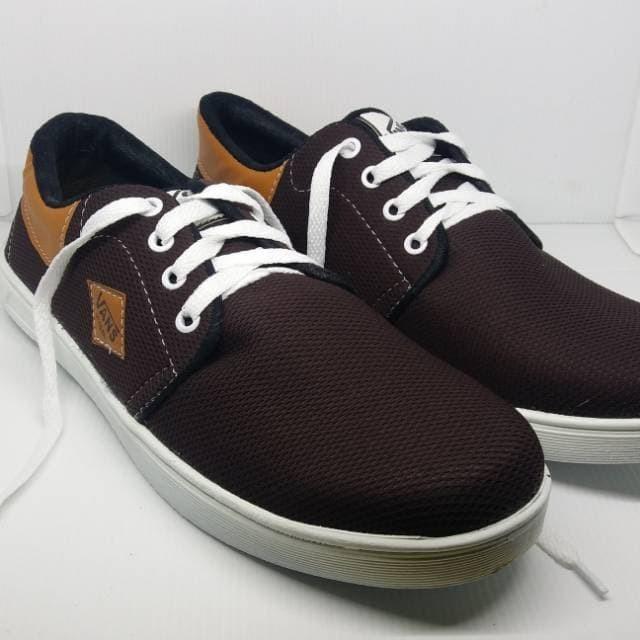 Terlariss sepatu vans denim dark brown vd11 new harga ... b3ff990a23