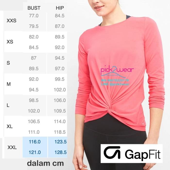 Baju Senam Kaos olahraga Fitness Zumba Lengan Panjang twist Rosehip - Merah Muda, XL