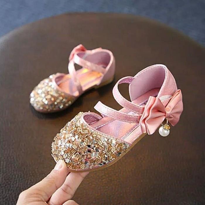 Foto Produk Sepatu Sandal Sequin Gliter dari AxStyle