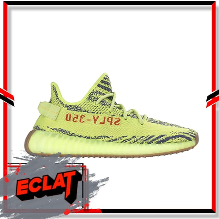 Jual Adidas Yeezy Boost 350 V2 Semi Frozen Yellow New Original Sneakers DKI Jakarta Eclat Sneakers   Tokopedia