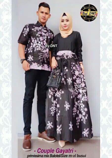 Jual Baju Batik Couple Keluarga Baju Pesta Sarimbit Batik Gayatri