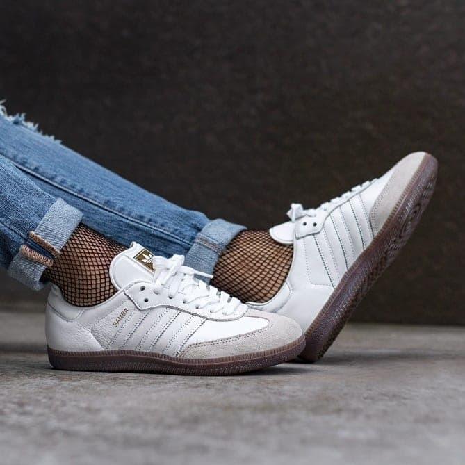 Jual Adidas Samba White White Gum - Pediskoceria  e4b113bd1d6f