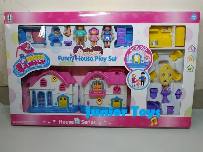 Jual Mainan Rumah - Rumahan Funny House Play Set  0a5d54da94