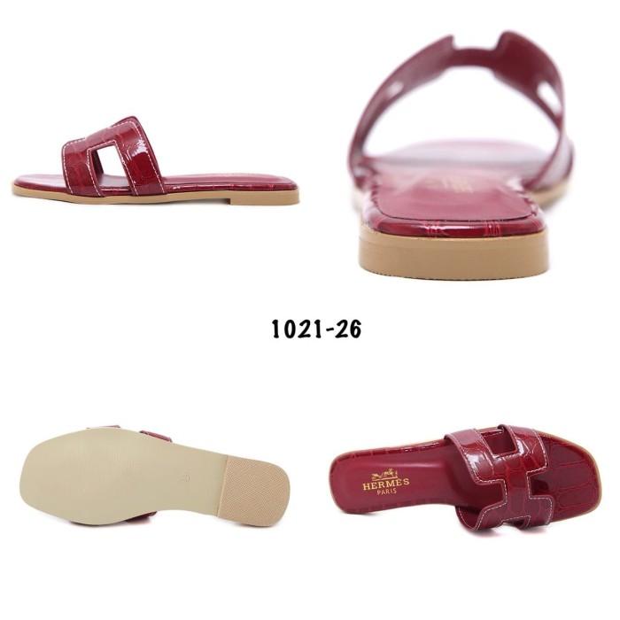 36c3543066b2 Jual sandal Hermes Croco Sandal  1021-26