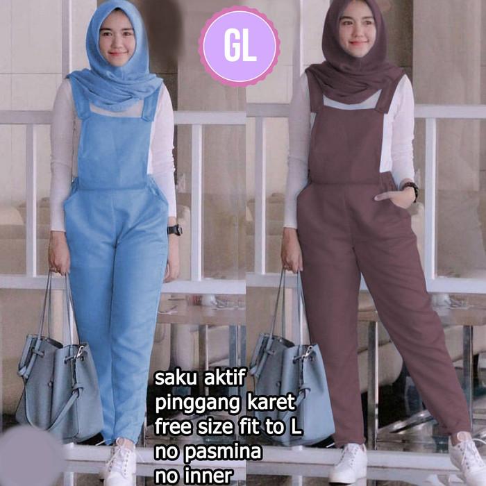 Setelan Wanita Muslim - Fashion Jumpsuit Muslim Ineke - Dzikri ... 14a61d0277