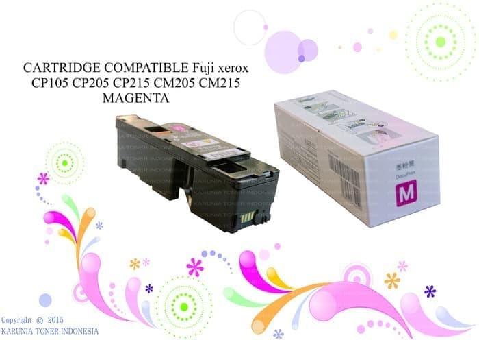 harga Cartridge compatible cp105 cp215 cm205 cm215 magenta Tokopedia.com