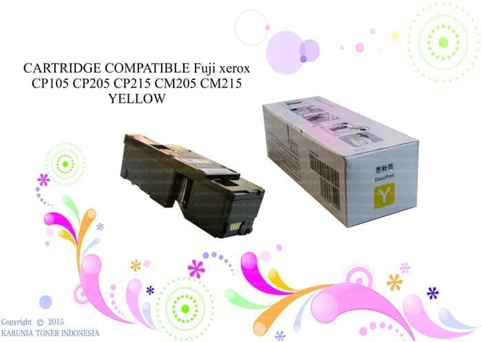 harga Cartridge compatible cp105 cp215 cm205 cm215 yellow Tokopedia.com