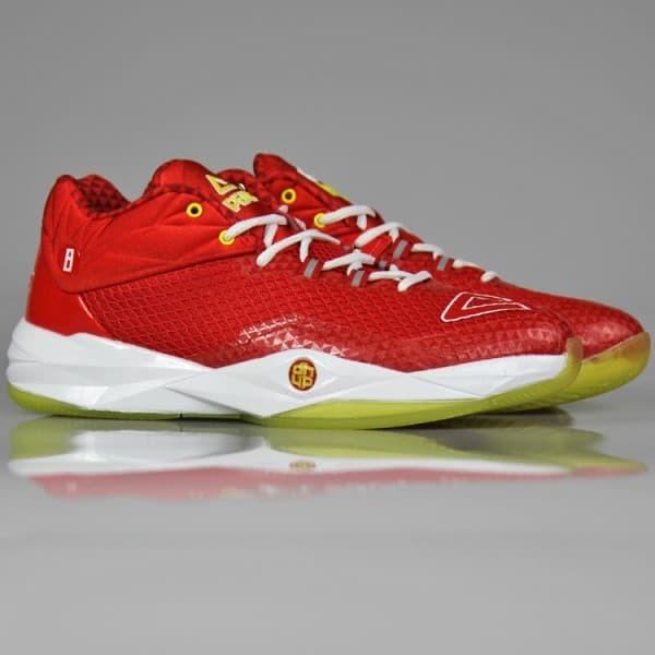 f617d91b0a14 PEAK Sepatu Basket NBA Dwight Howard II Low Chart Ori 100% - E64003A -  Merah