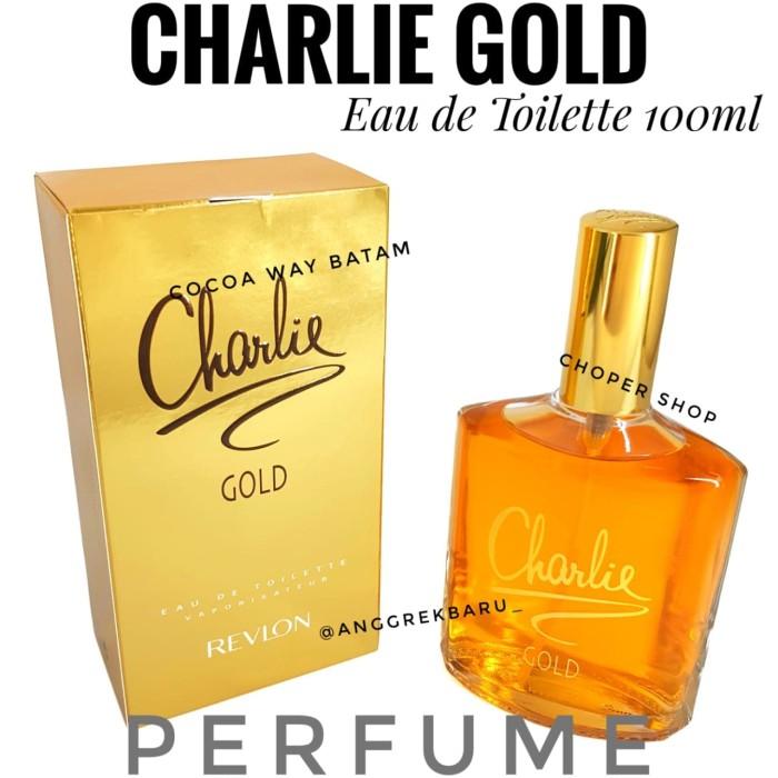 Parfum revlon charlie gold 100ml original harga Parfum revlon charlie gold 100ml original Tokopedia.com