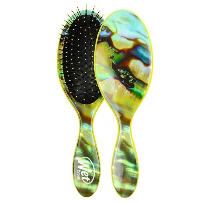 The wet brush gemstone abalone